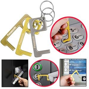 PPE Door Opener Closer No-Touch w/ Key Chain